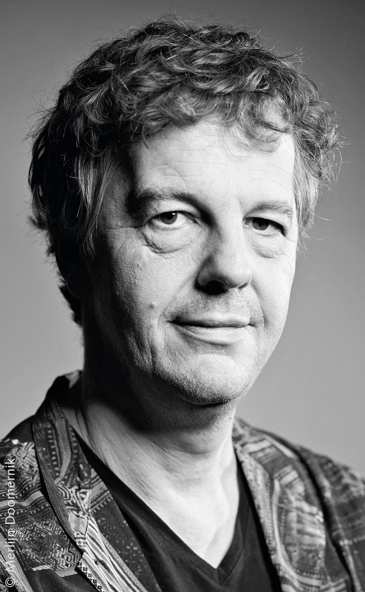 Autorenportrait des Schriftstellers Mathijs Deen