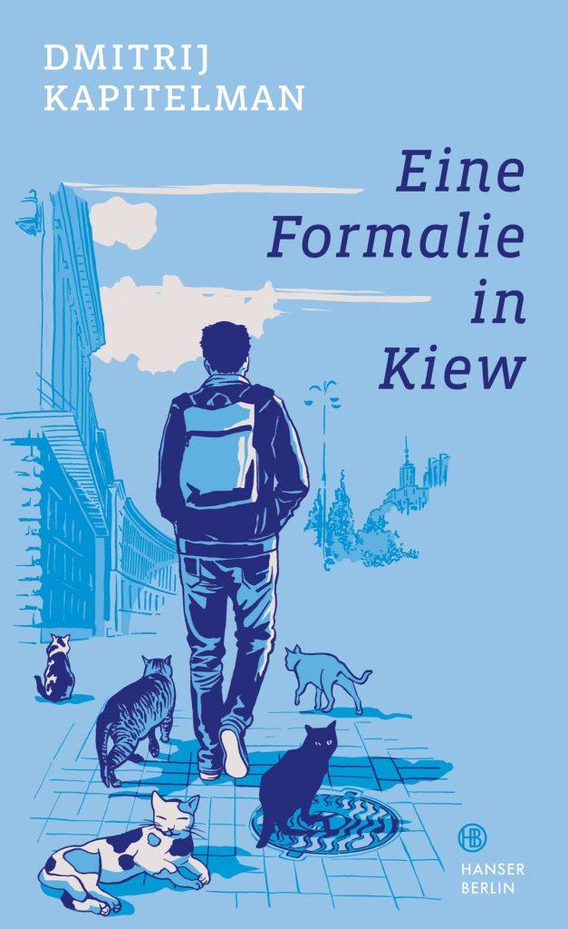 """Cover des Romans """"Eine Formalie in Kiew"""""""