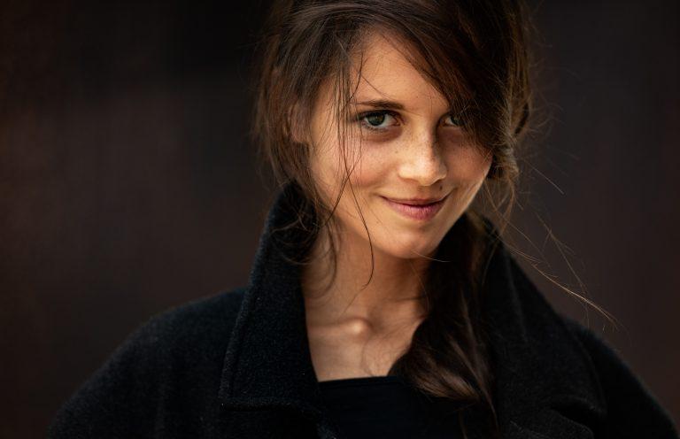 Portrait der Schriftstellerin Bianca Nawrath