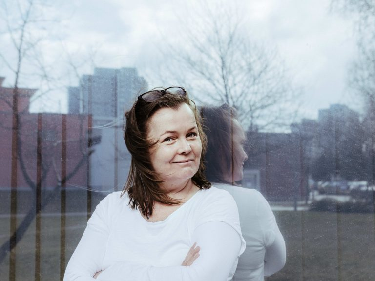 Portrait der Autorin Katja Oskamp